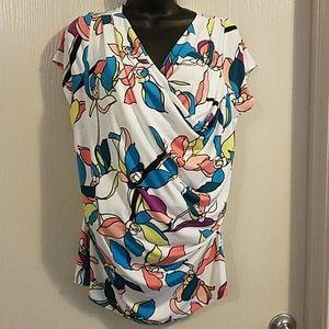 HELP RESCUE DOG/CANCER♡Worthington blouse XL